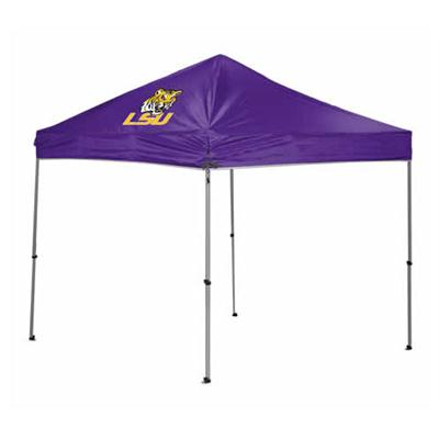 NCAA 9x9 Strght Leg Canopy LSU