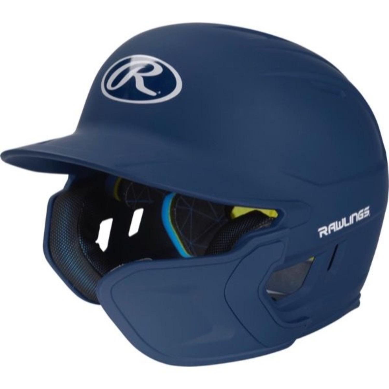 Rawlings Mach EXT Batting Helmet-Navy-SR-RH