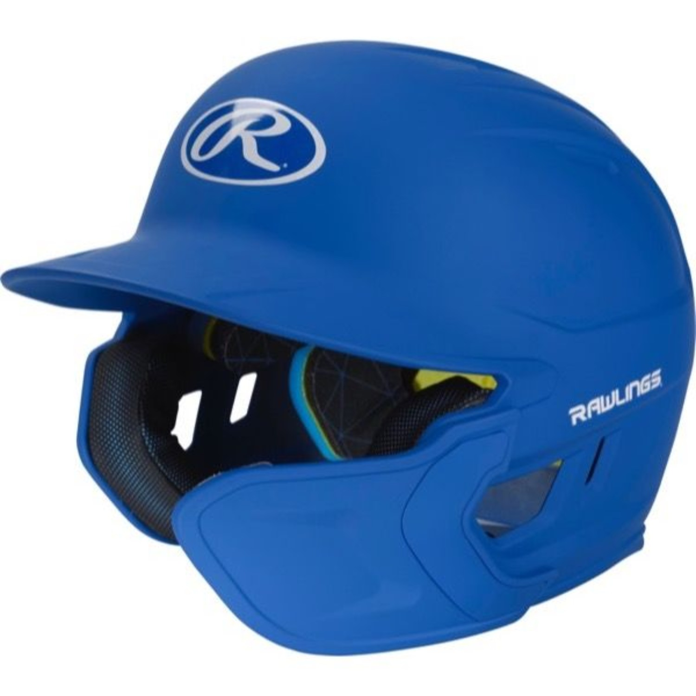 Rawlings Mach EXT Batting Helmet-Royal-JR-RH