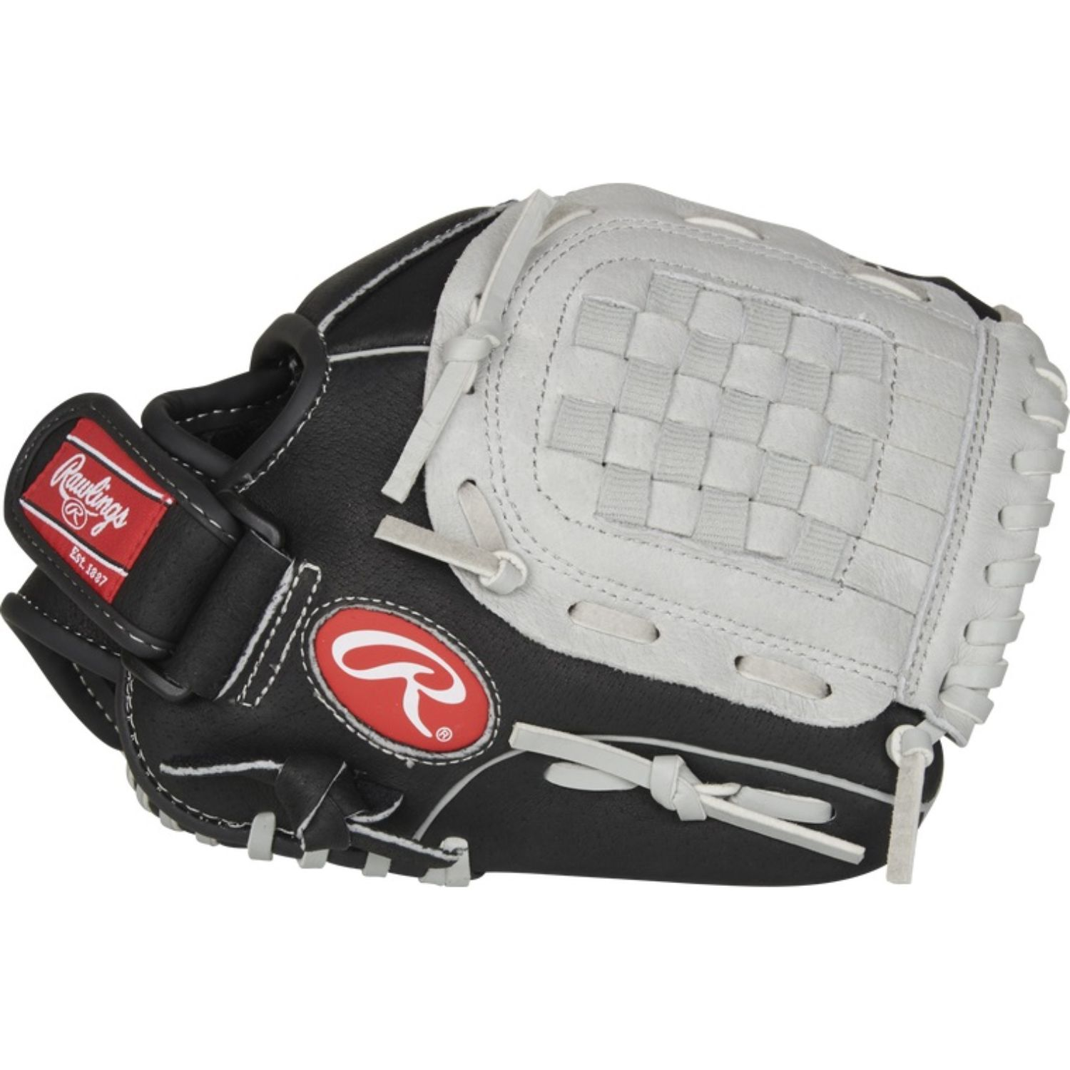 Rawlings 10.5 In Sure Catch Youth Infield Outfield Glove LH