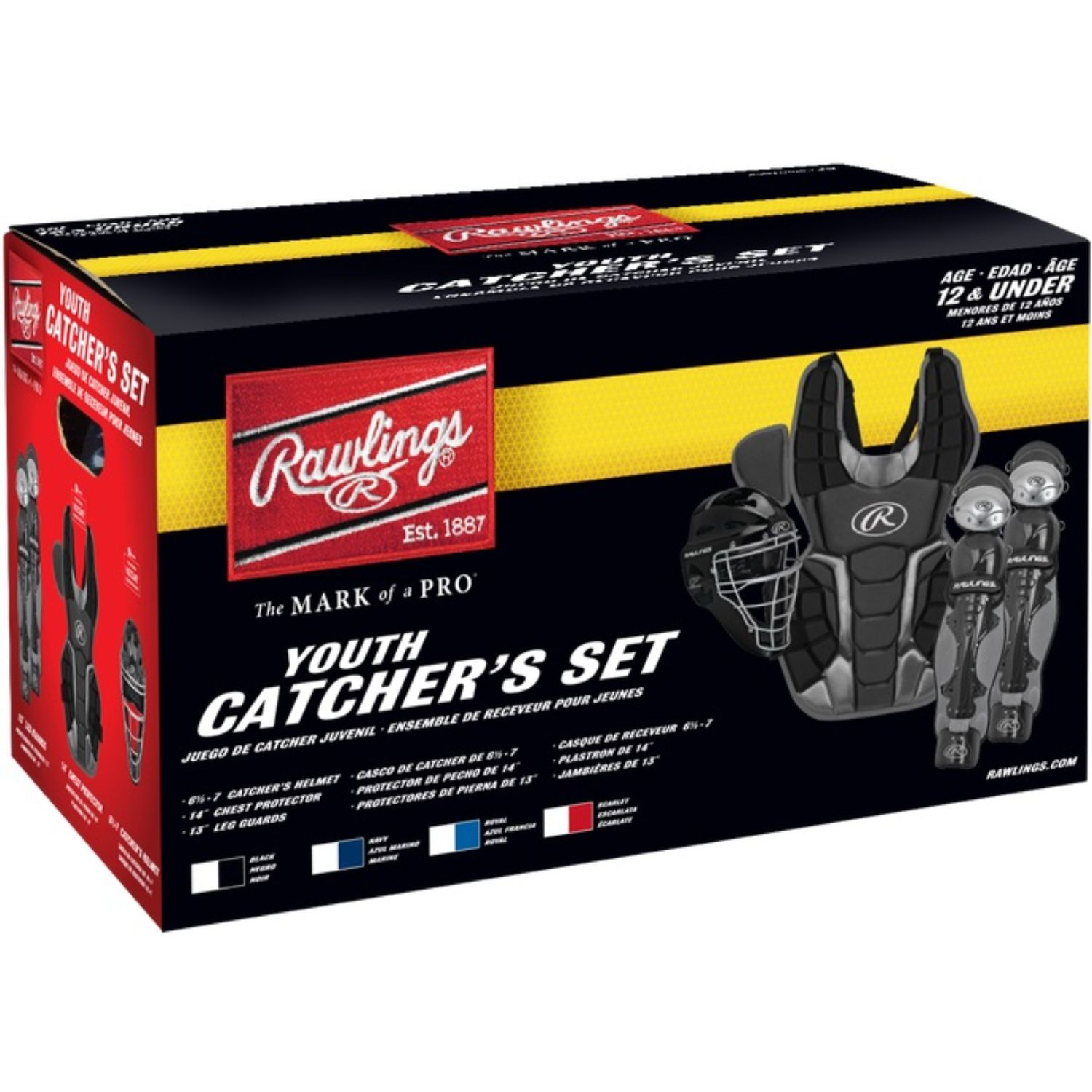Rawlings Renegade Youth Catchers Set Ages 12 and Under