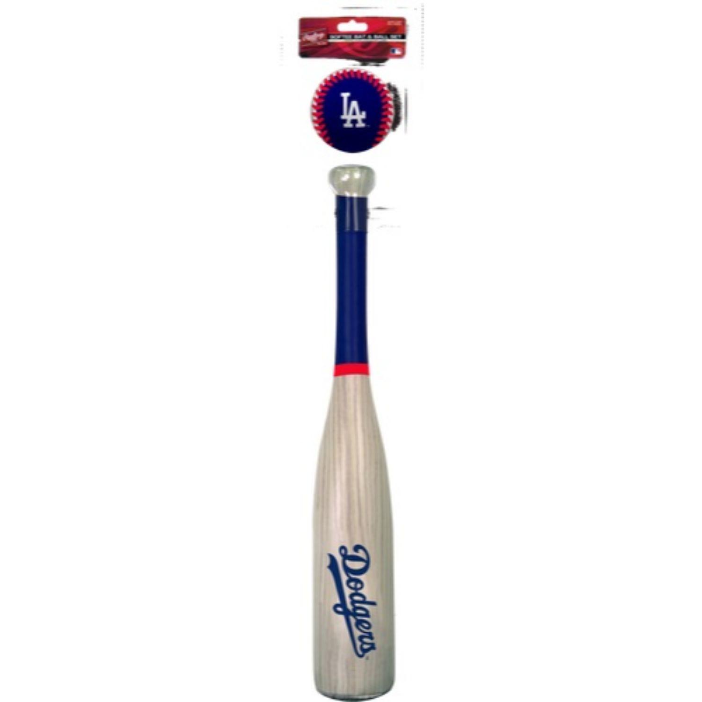 Rawlings MLB LA Dodgers Grand Slam Softee Bat and Ball Set
