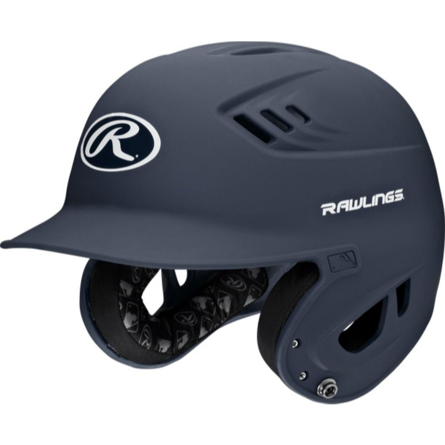 Rawlings Velo Series Junior Batting Helmet Matte Navy