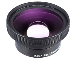 Raynox HD-6600 Pro 0.66x High Quality Wide Angle Lens 55mm Mounting Thread