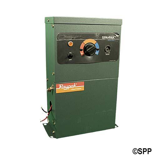 "Heater Assembly, Raypak, Outdoor, 5.5kW, 230V, 1-1/2""NPT"