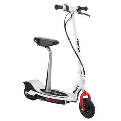 E200S Electric Scooter Wht Red