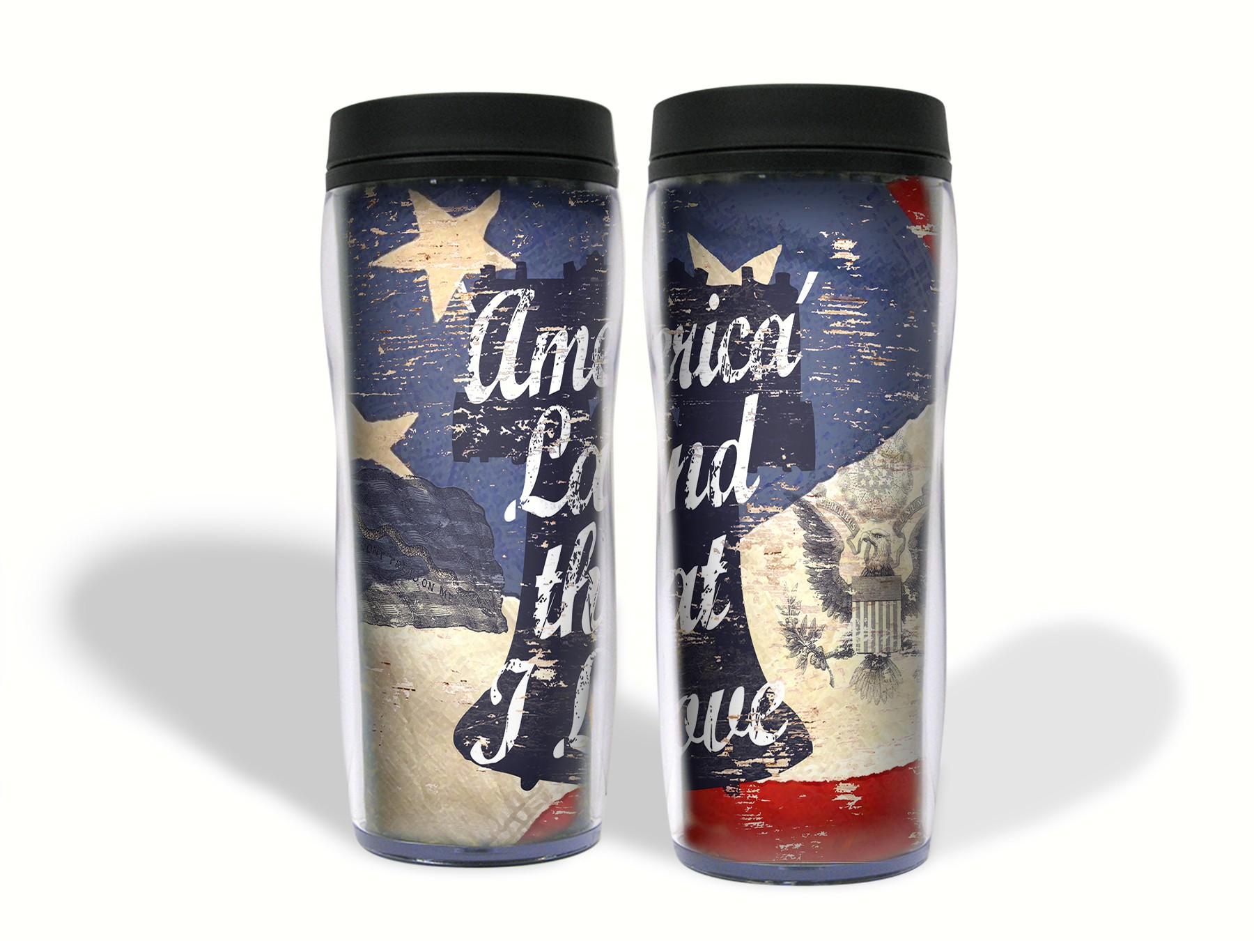 Land that I Love 16 oz. Travel Mug