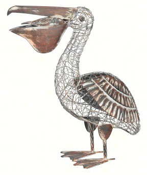 Rustic Pelican Decor