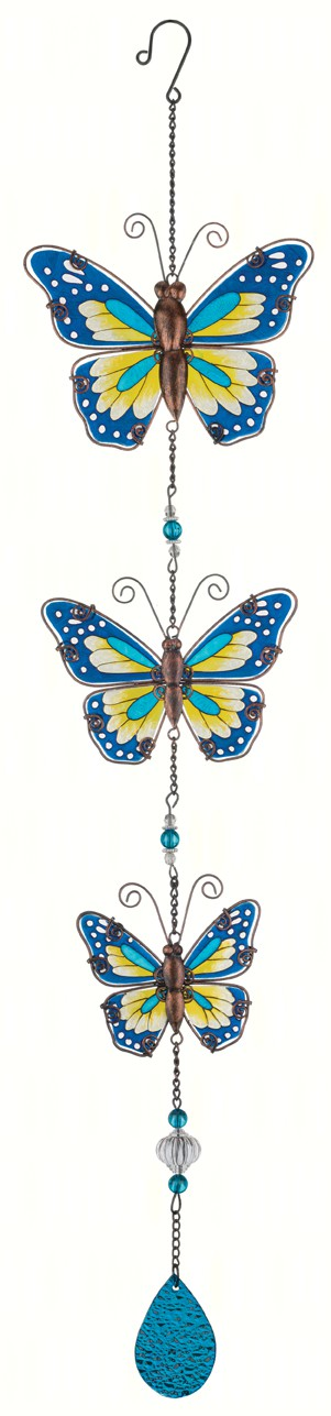 Blue Butterfly Hanging Decor