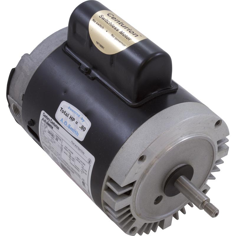 Motor, Threaded, 56J, Century, .50 HP, Full Rate, 115/230V, 8.8/4.4 Amp