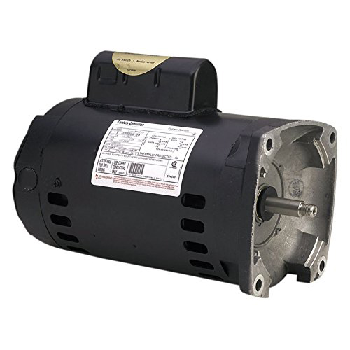 Motor, Square Flange, 56Y, Century, 1.5 HP, Full Rate, EE, 208-230V