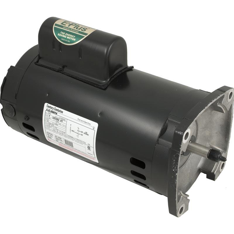 Motor, Square Flange, 56Y, Century, 3.0 HP, Full Rate, EE, 208-230V