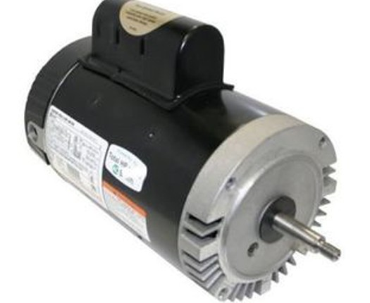 Motor, Threaded, 56J, Century, 2-Speed, 1.0 HP, Full Rate, 230V