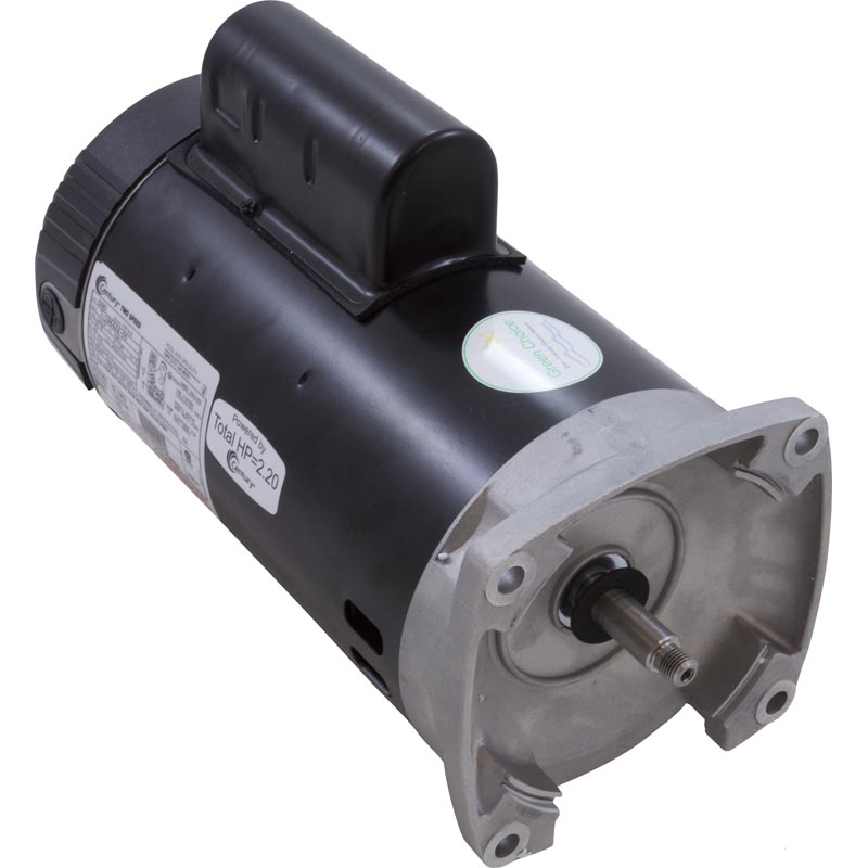 Motor, Square Flange, 56Y, Century, 2-Speed, 1.5 HP, Full Rate, EE, 230V