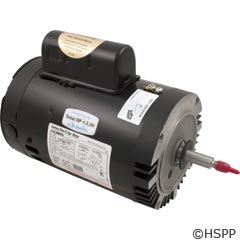 Motor, Threaded, 56J, Century, 2-Speed, 1.5 HP, Full Rate, 230V