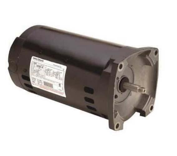 Motor, Square Flange, 56Y, AOS, 3-Phase, .75 HP, 208-230/460V