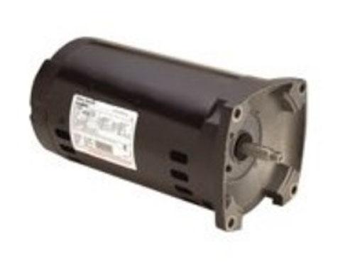 Motor, Square Flange, 56Y, AOS, 3-Phase, 1.5 HP, 208-230/460V