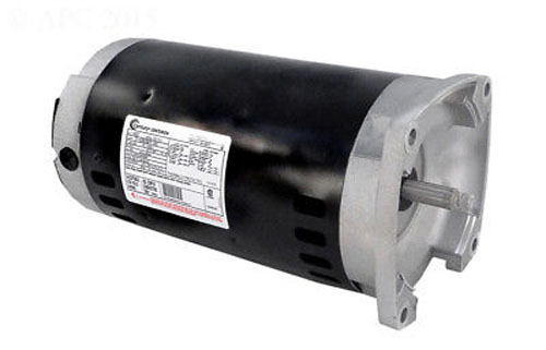Motor, Square Flange, 56Y, AOS, 3-Phase, 2.0 HP, 208-230/460V
