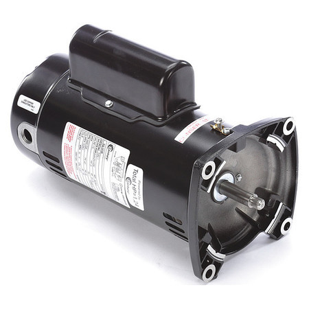 Motor, Square Flange, 48Y, AOS, 2-Speed, .75 HP, Full Rate, EE, 115V