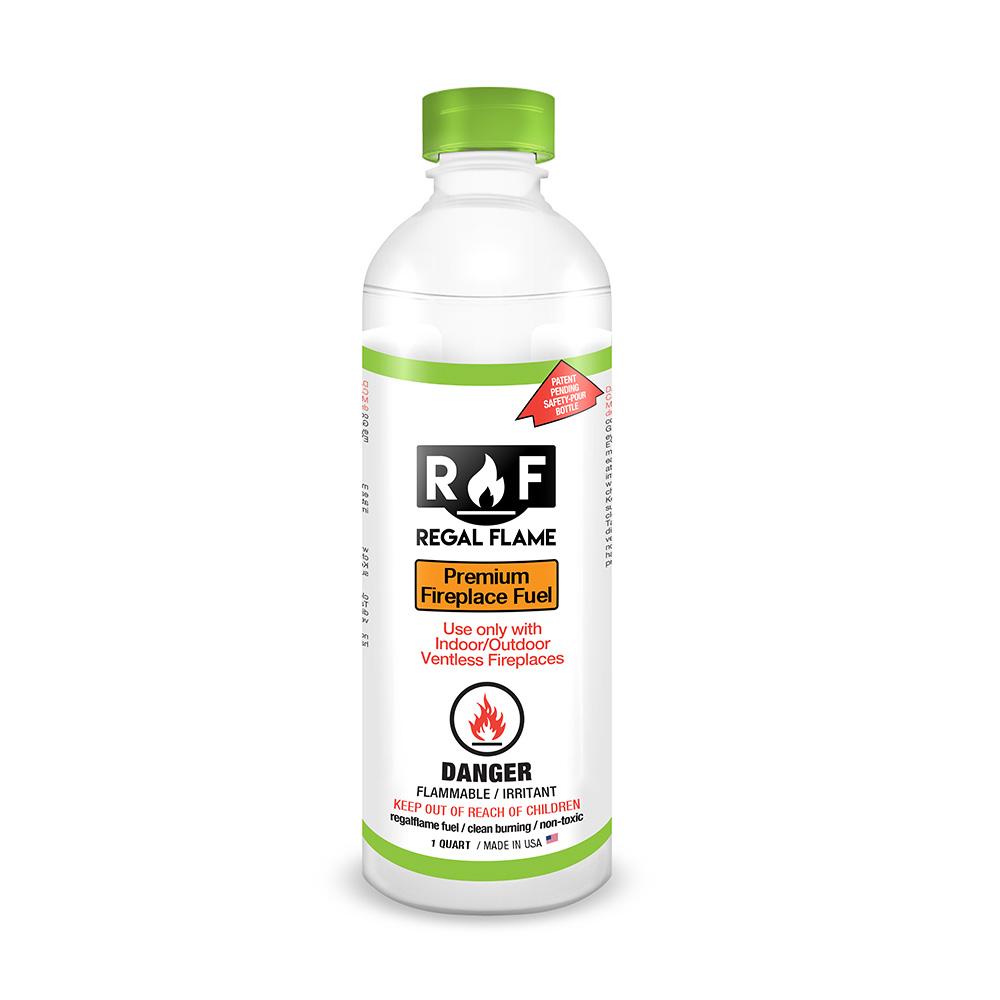 Regal Flame Premium Ventless Bio Ethanol Fireplace Fuel - 1 Quart