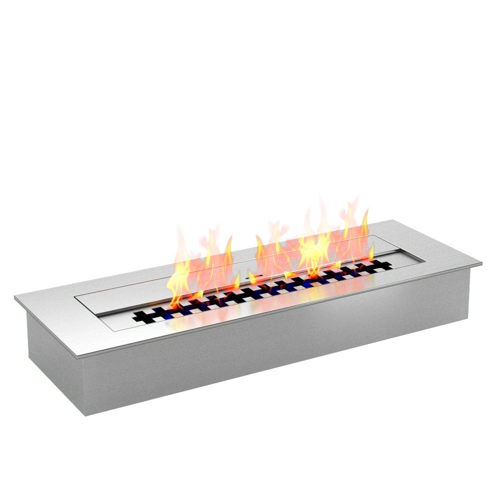 Regal Flame PRO 12 Inch Bio-Ethanol Fireplace Burner Insert 1.5 Liter