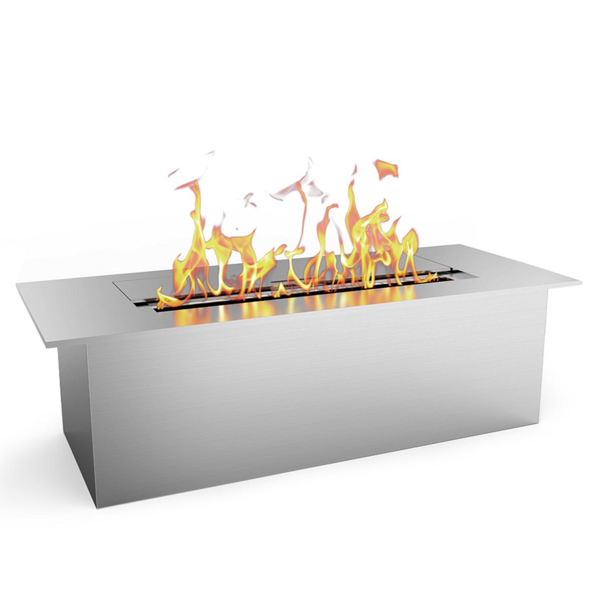 Regal Flame Slim 8 Inch Bio Ethanol Fireplace Burner Insert .5 Liter. All Types of Indoor, Gas Inserts, Ventless & Vent Free, El