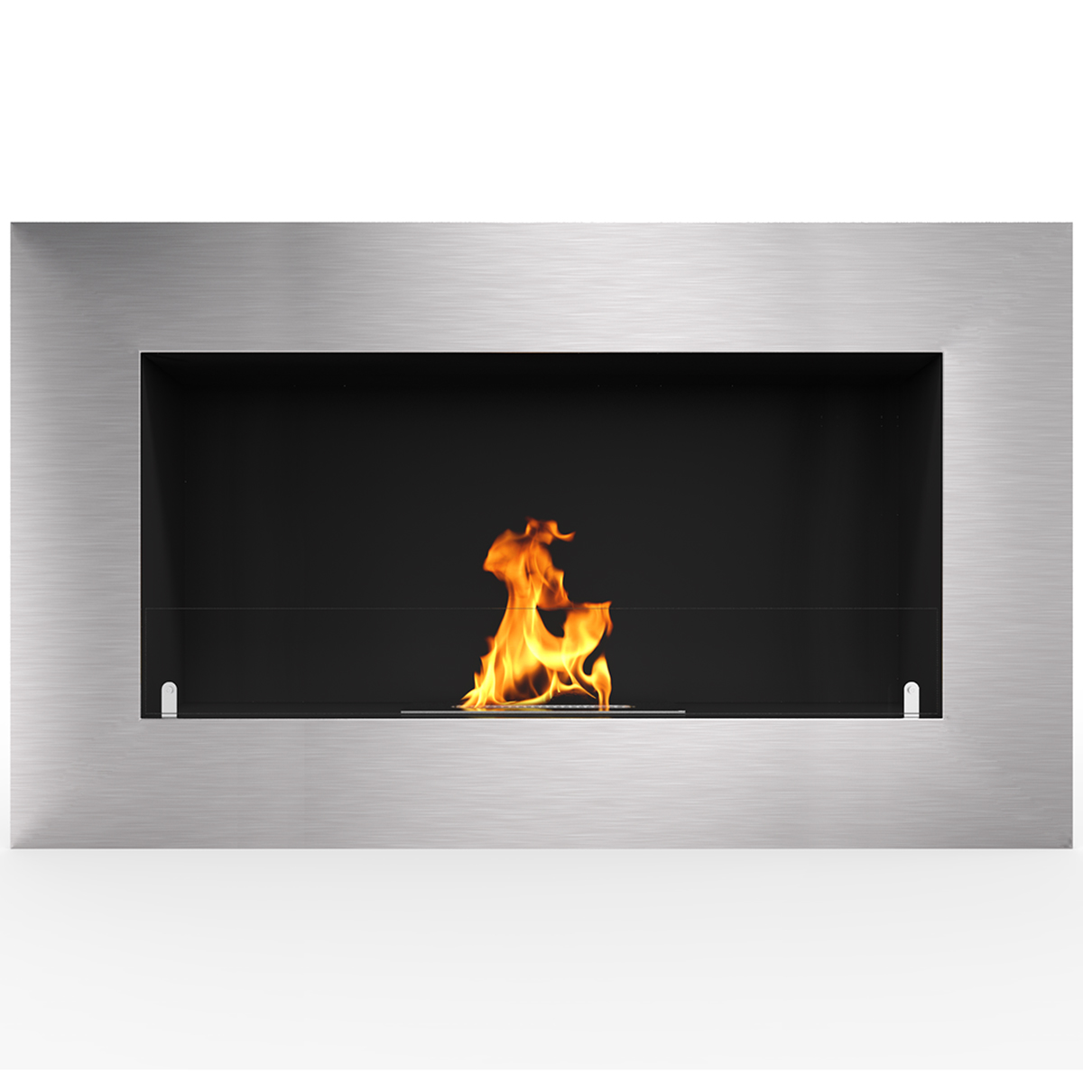 """Regal Flame Cambridge 71"""" Ventless Built In Wall Recessed Bio Ethanol Wall Mounted Fireplace Similar Electric Fireplaces, Gas Lo"""