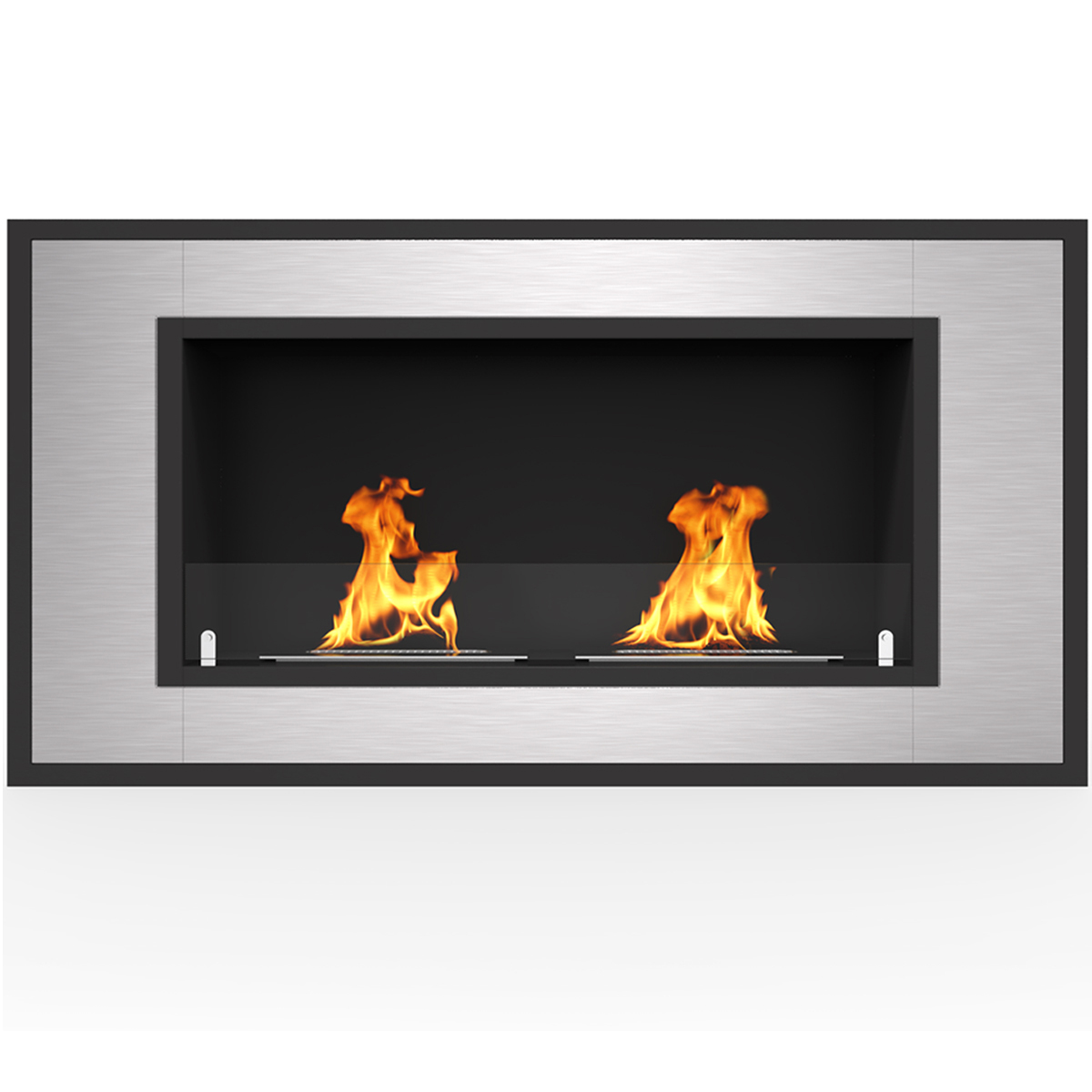 """Regal Flame Cynergy 36"""" Ventless Built In Wall Recessed Bio Ethanol Wall Mounted Fireplace Similar Electric Fireplaces, Gas Logs"""