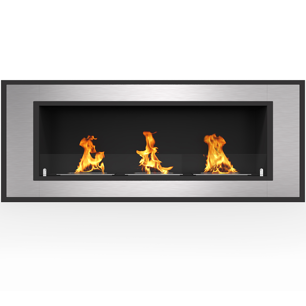 """Regal Flame Cynergy 42"""" Ventless Built In Wall Recessed Bio Ethanol Wall Mounted Fireplace Similar Electric Fireplaces, Gas Logs"""