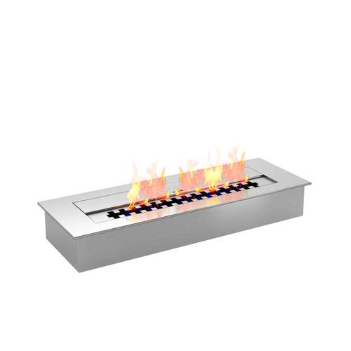Moda Flame PRO 18 Inch Bio-Ethanol Fireplace Burner Insert 2.6 Liter