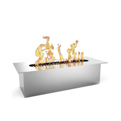 Moda Flame Slim 8 Inch Bio Ethanol Fireplace Burner Insert .5 Liter. All Types of Indoor, Gas Inserts, Ventless & Vent Free, Ele