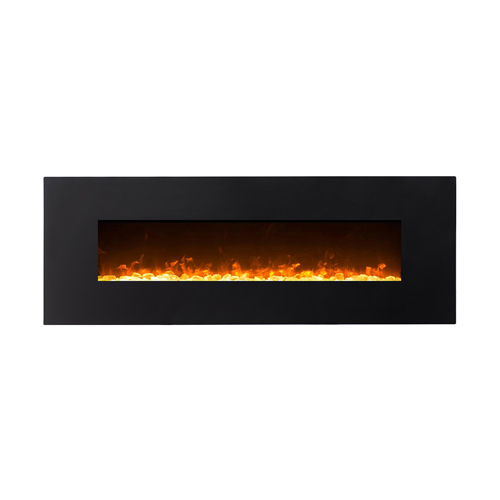 Gibson Living GL5072LE Oakland 72 Inch Log Linear Wall Mounted Electric Fireplace