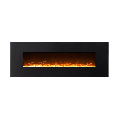 """Moda Flame MFE5072LE 72"""" Skyline Linear Wall Mounted Electric Fireplace - Log"""