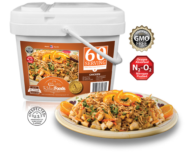 All Chicken - 60 Servings Bucket