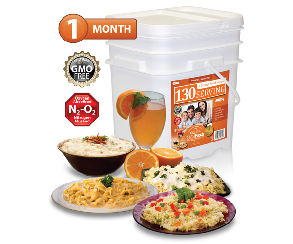 1 Month - Essential - 130 Serving All Entrée Bucket