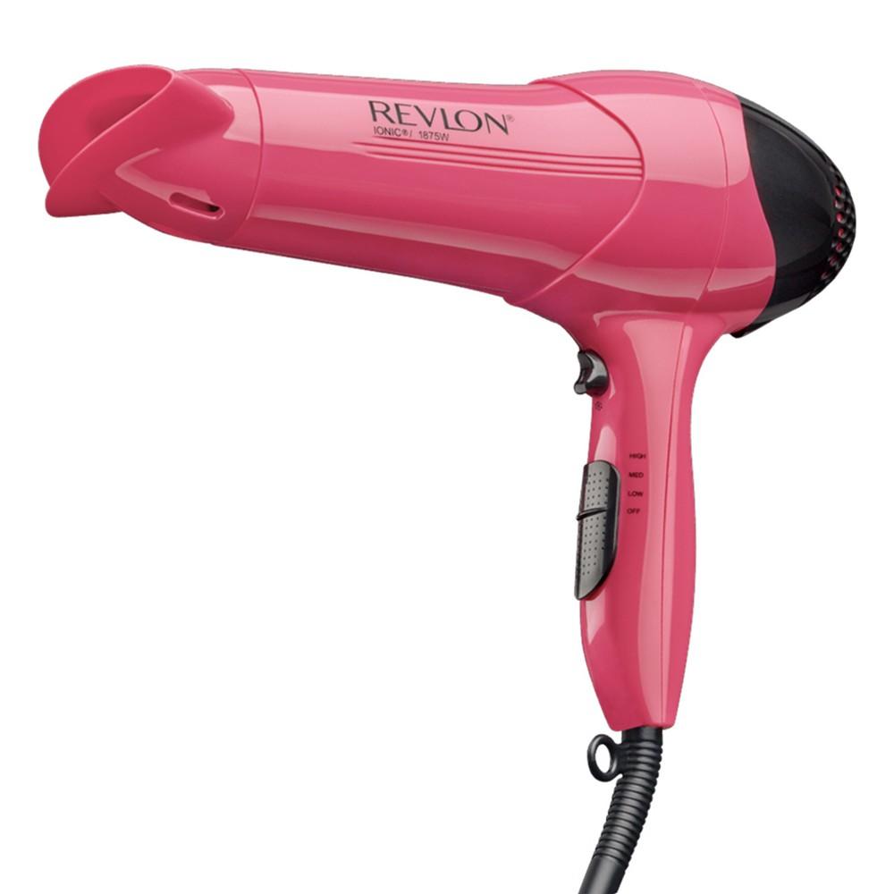 Revlon RV474 1875 Watts Ionic Frizz Control Styler, Pink