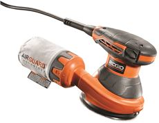 RIDGID� VARIABLE SPEED RANDOM ORBIT SANDER, 5 IN.