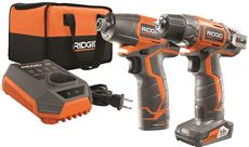 RIDGID� 12-VOLT DRILL AND IMPACT DRIVER KIT