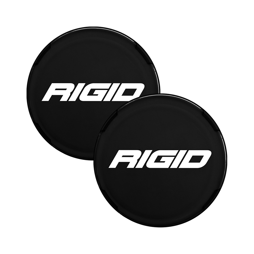 COVER FOR RIGID 360-SERIES 4 INCH LED LIGHTS, BLACK SET OF 2