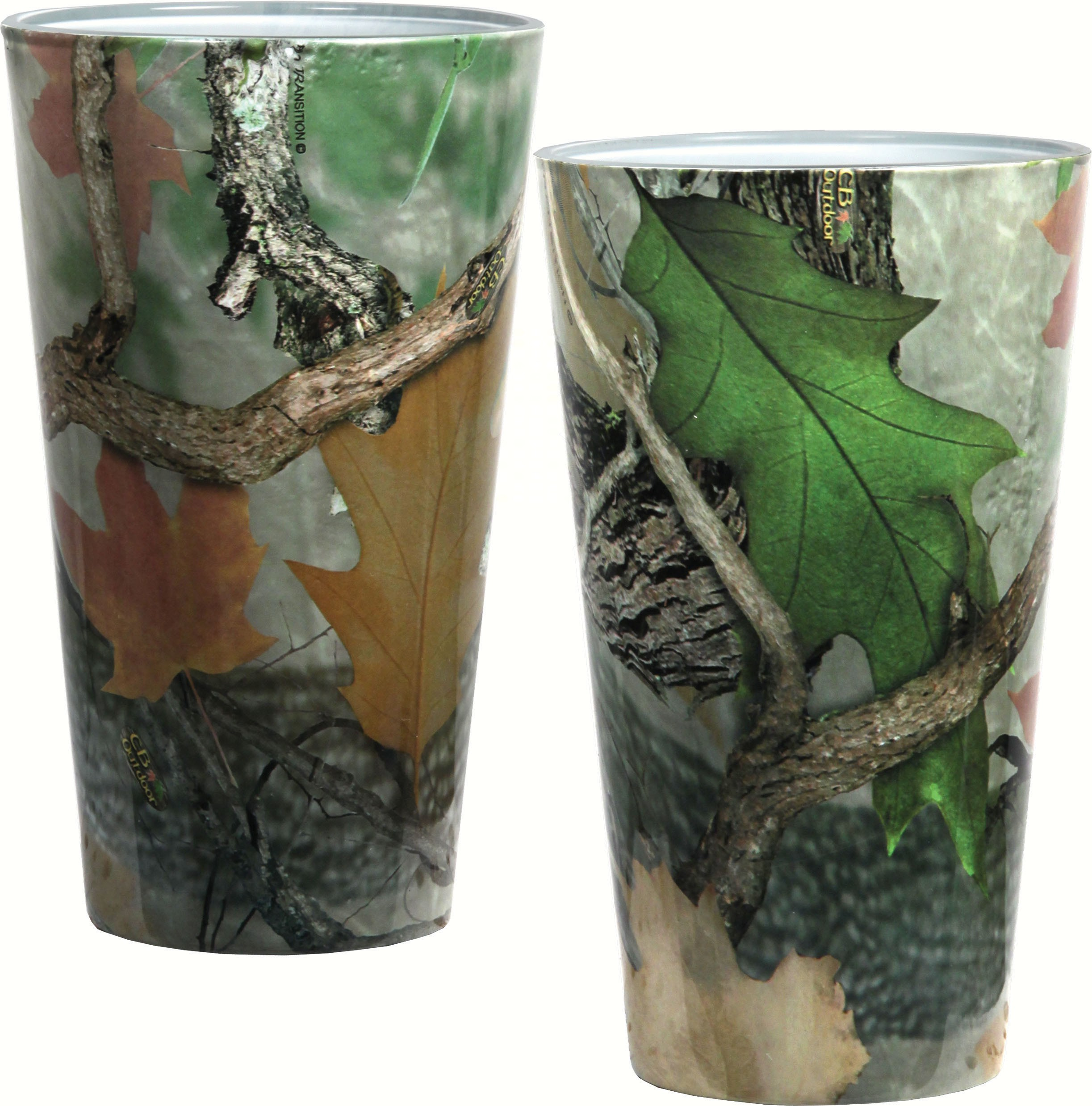 Camo Pint Glasses 2 pack