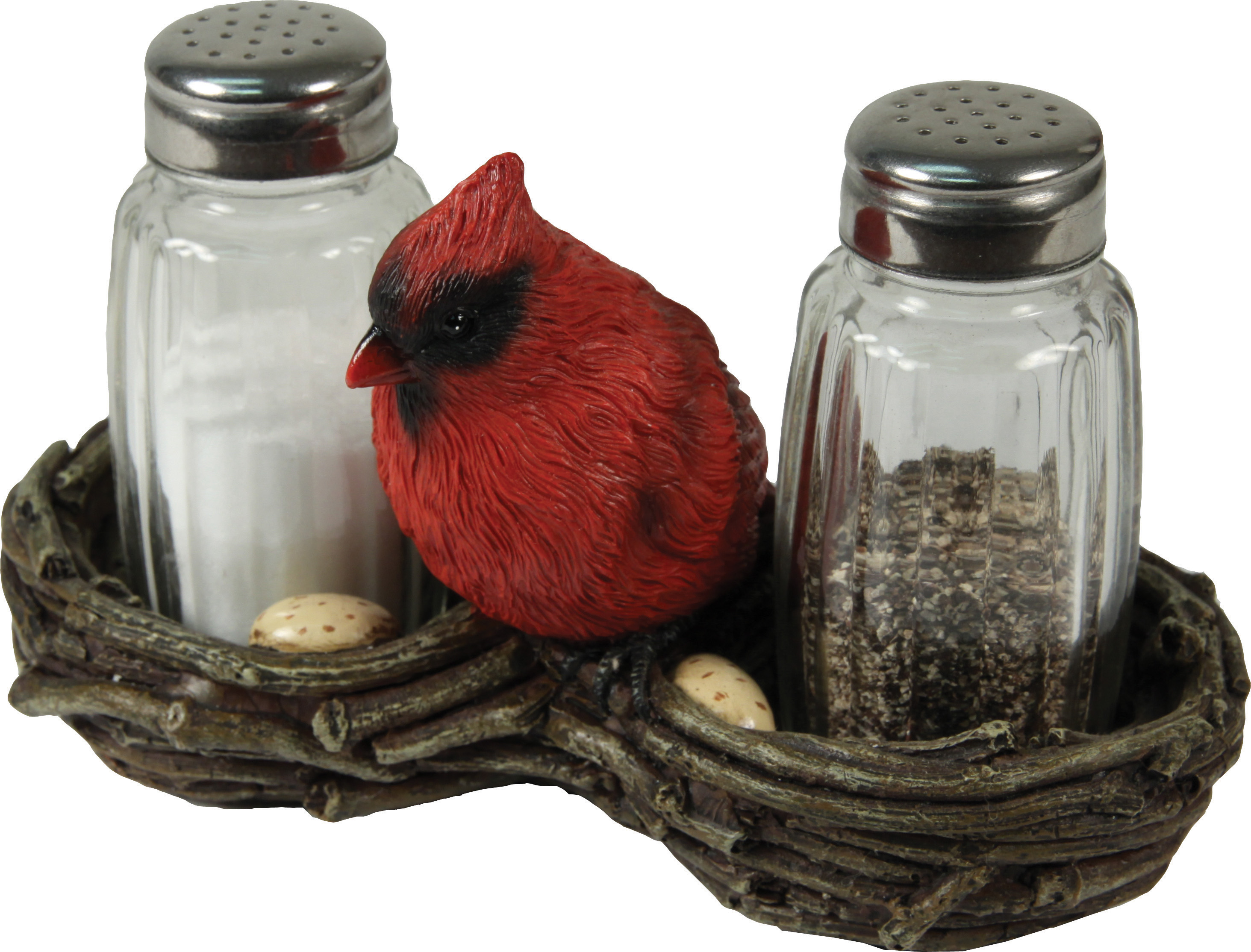 Cardinals Salt & Pepper Set