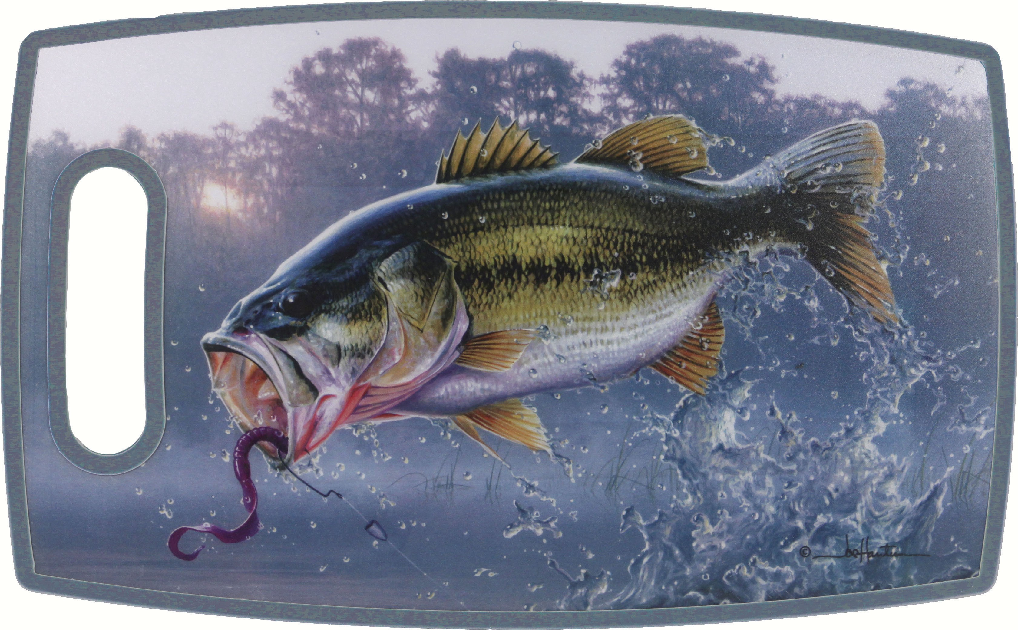 Bass Rectangle PPE Plastic Cutting Board