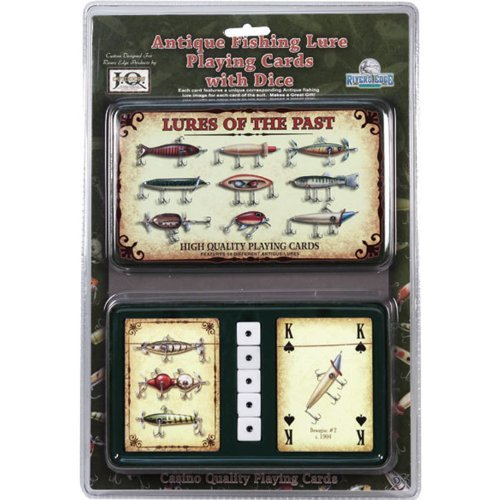REP Antique Lure Cards In Gift Tin  1572