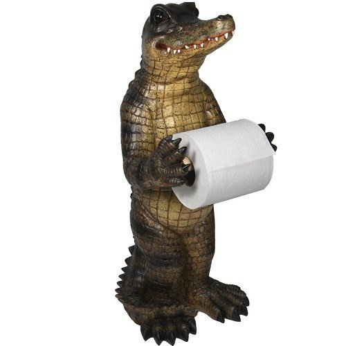 REP Alligator Standing Toilet Paper Holder 806