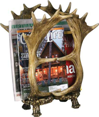 REP Four Antler Magazine Rack  987
