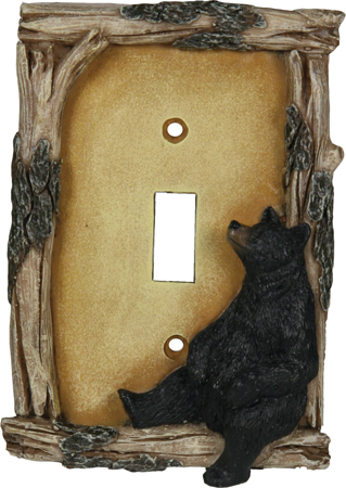 REP Bear Single Switch Plate   Cover Crd  617