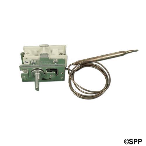 """Thermostat, Eaton, Mechanical, 36"""" Capillary x 1/4"""" Bulb 3.5"""" Bulb Length, SPST"""