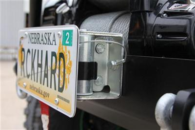 Roller Fairlead License Plate Bracket