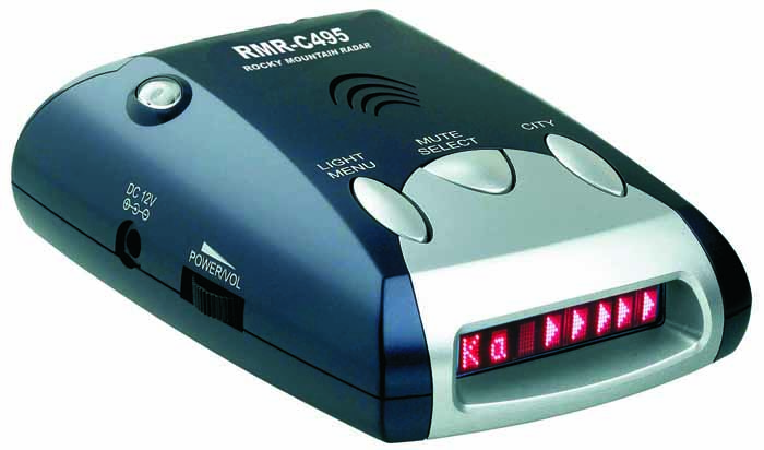ALL BAND RADAR/LASER DETECTOR