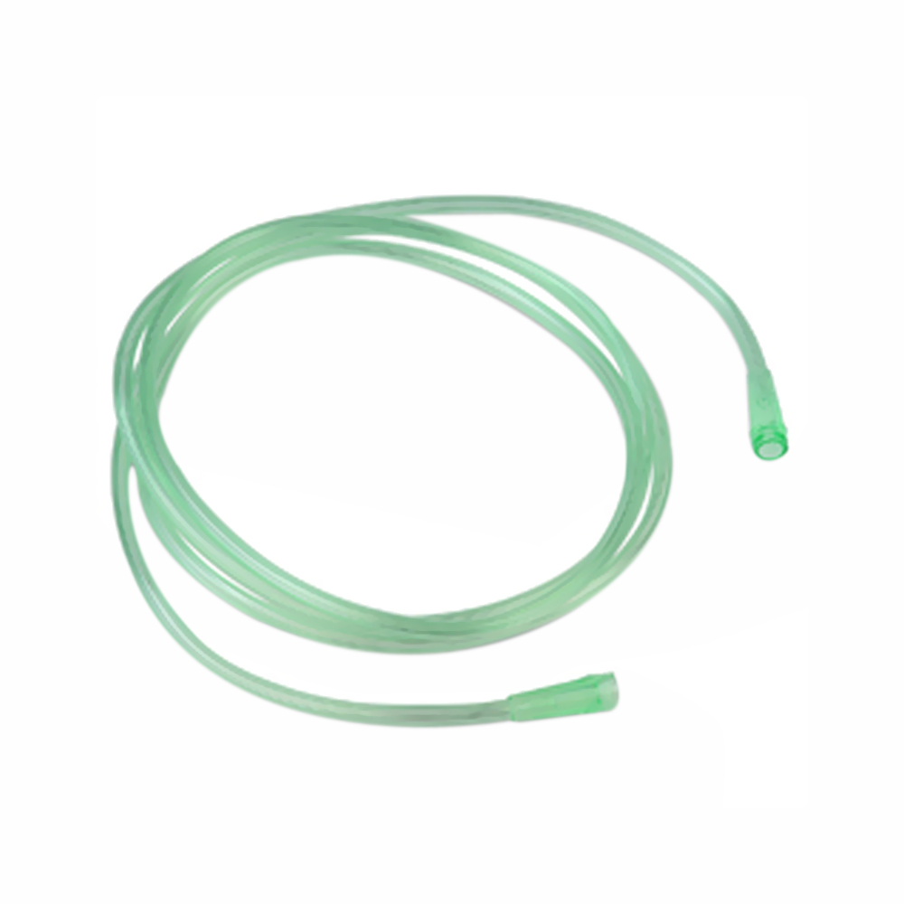 Six-Channel Crush-Resistant Oxygen Tubing, 25', green